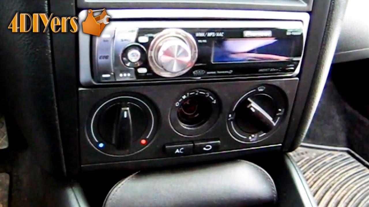 DIY: Volkswagen MKIV HVAC Light Bulb Replacement  YouTube