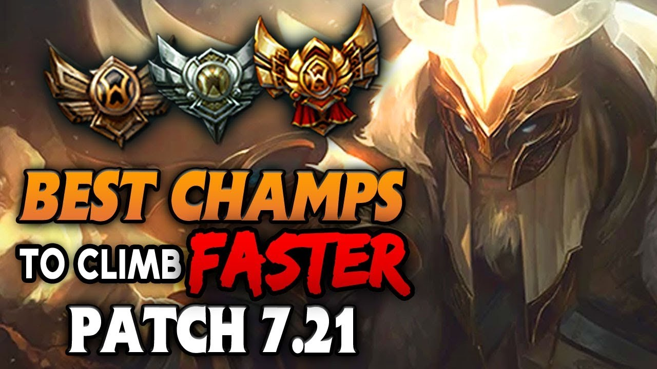 Best Champions Who Climb The Fastest In Low Elo For Every Role League Of Legends Youtube