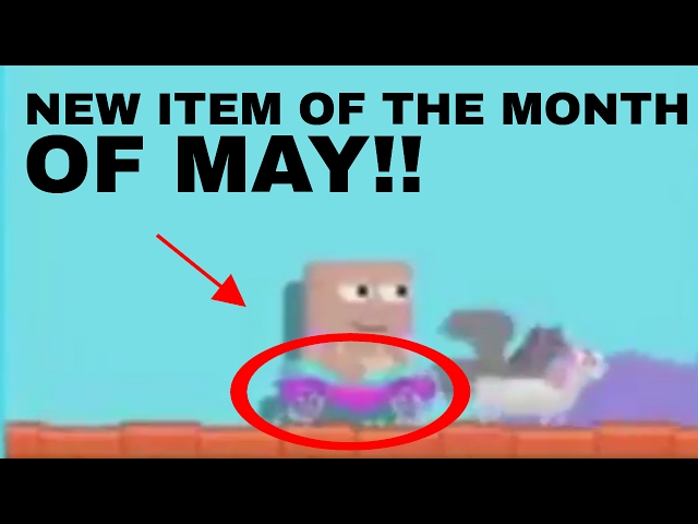 NEW ITEM OF THE MONTH FOR MAY (MAY 2017)!! | Growtopia