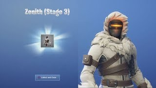 *UNLOCKED* ZENITH *NEW* 'SNOW SUIT' After Playing Random Squad Game (Fortnite)