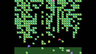 Arcade Game: Millipede (1982 Atari)