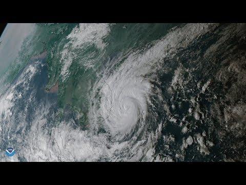 Typhoon DAMREY hit Vietnam