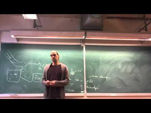 Hydrodynamique / Séance 1 / Master MEEF 2015-2016 / Physique / Etienne Parizot