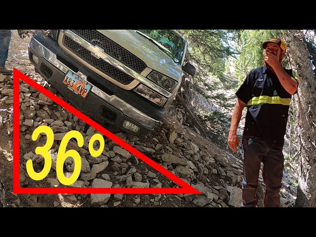 There's NO WAY you'll recover that truck! (Rescuing a Chevy Silverado) - Matt's Off Road Recovery