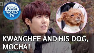Kwanghee and his dog, Mocha! [Dogs are incredible/ENG/2020.05.27]