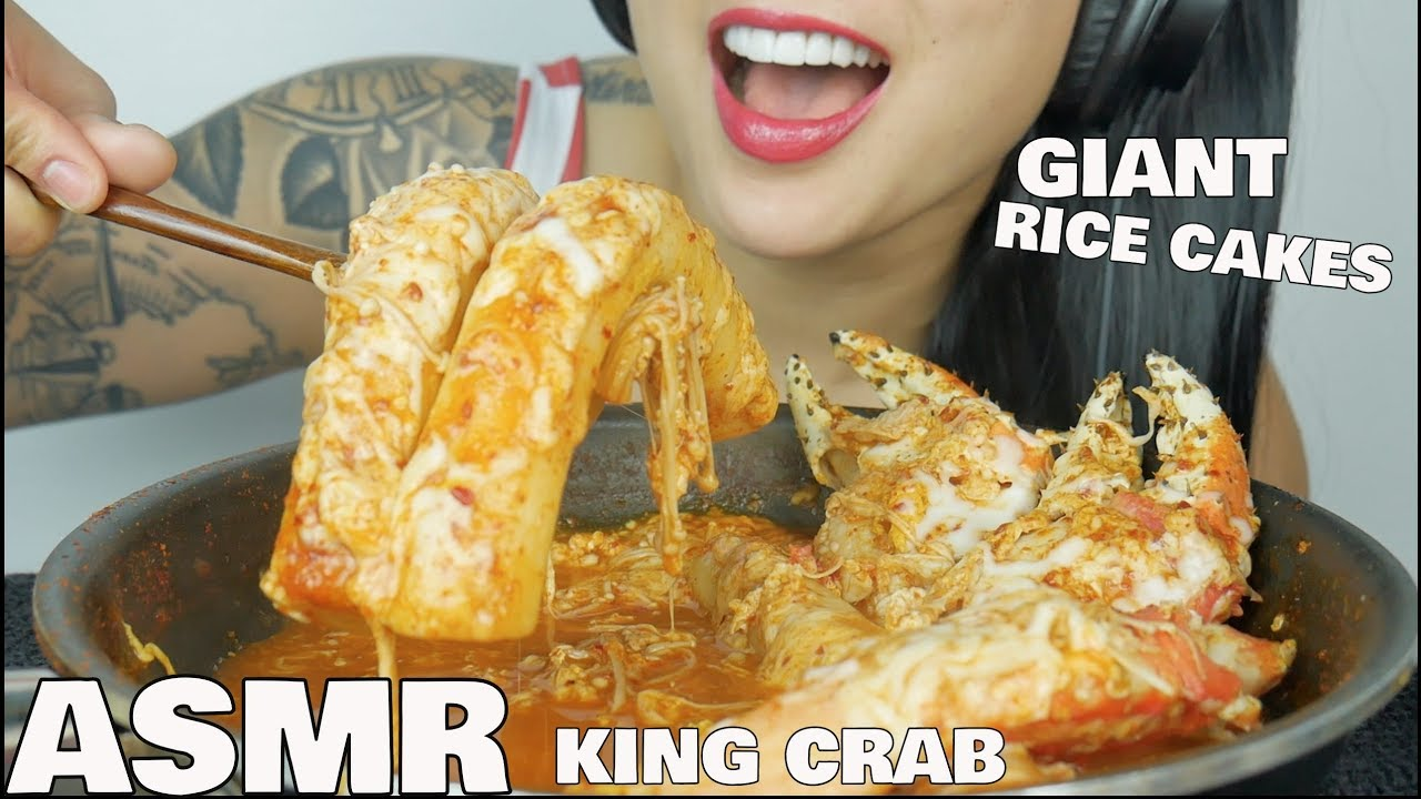 Asmr Cheesy Giant Rice Cakes King Crab Cooking Eating Sounds No Talking Sas Asmr Youtube Asmr mystery brain cake eyeball jelly *halloween edition (eating sounds) no asmr creamy mini cheesy rice cake fried seaweed roll (eating sounds) no. asmr cheesy giant rice cakes king crab cooking eating sounds no talking sas asmr