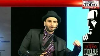 India Today Conclave: Bollywood Actor Ranveer Singh On A Roll