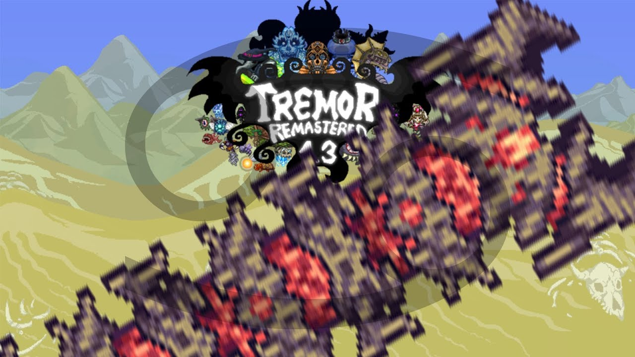 Terraria Tremor Mod No Hits, but with Sepulchre