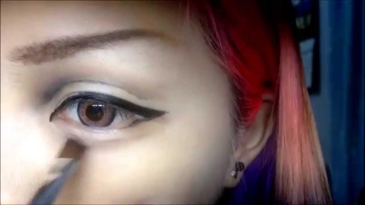 Basic Male Cosplay Eyemakeup Youtube