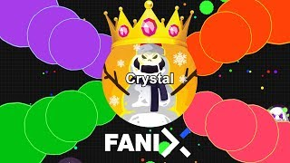 CRYSTALS NEW GAME FANIX.IO! THE BEST AGAR.IO LIKE GAME | Fanix Game Trailer