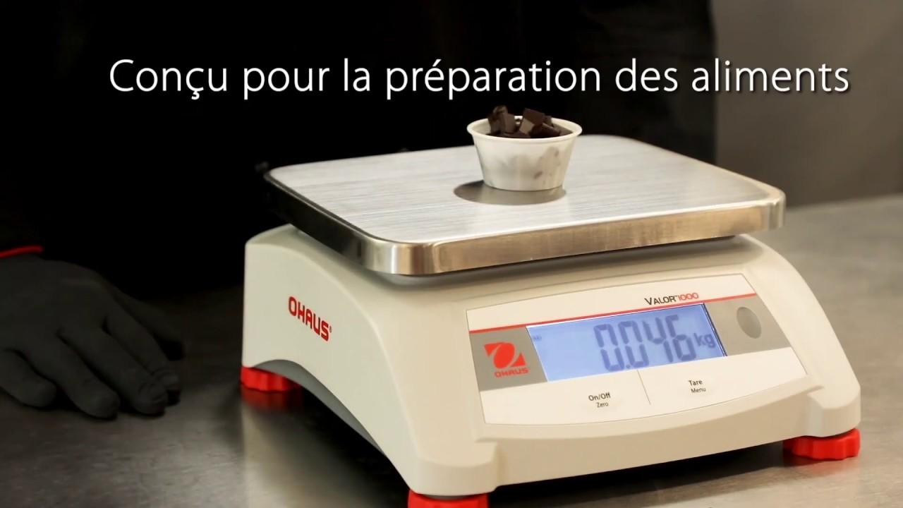 OHAUS Valor® 1000 - V12P (FR)