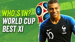 Our World Cup 2018 Best XI: Mbappé and De Bruyne in, Messi and Ronaldo out!