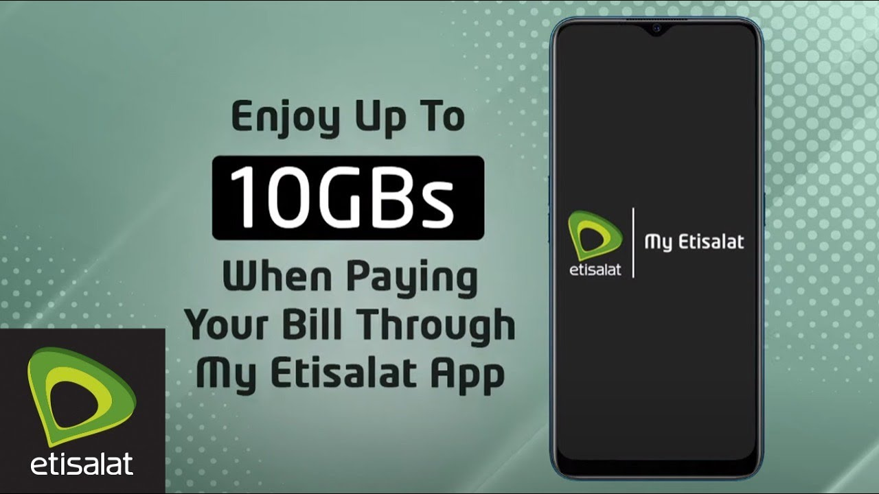 Free GBs with My Etisalat App