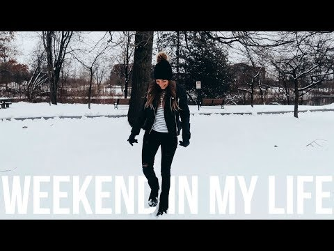 WEEKEND IN MY LIFE | Manifested Trip To New York City & Hoboken NJ
