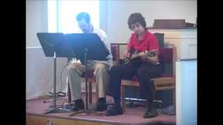 Scott MacLeish performing 80s rock song rift#4, Success Music Recital 2013