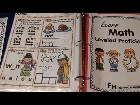 Reading & Math Leveled Activities (PreK, Kinder, & Grade 1)