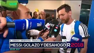 El hilo rojo, el amuleto de la suerte que usa Messi