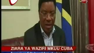 Ziara Ya Waziri Mkuu Cuba