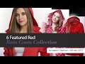 6 Featured Red Rain Coats Collection Amazon Fashion, Winter 2017