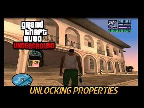 GTA Underground - How To Unlock Assets And Vercetti Estate