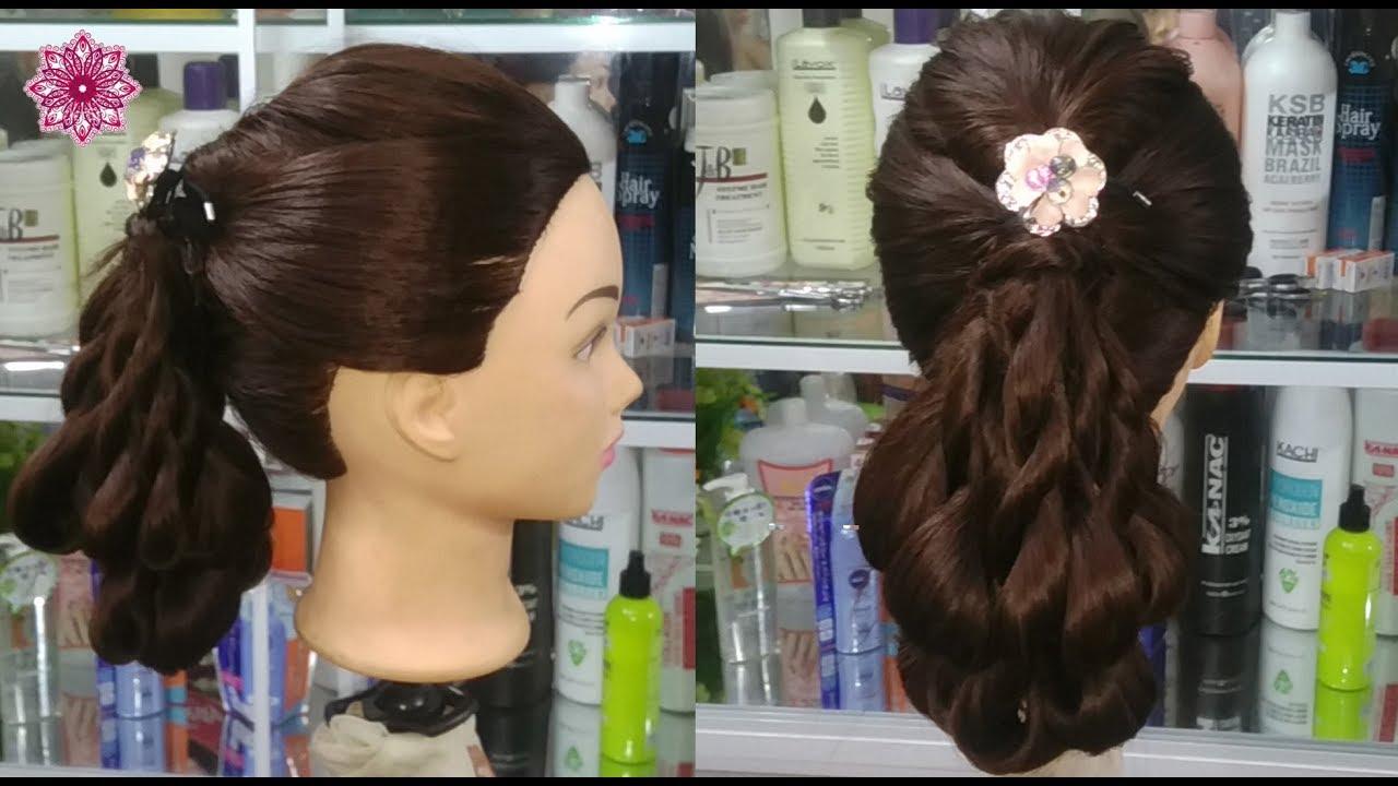 Búi tóc đẹp xoắn tự nhiên không cần uốn! Cách búi tóc đẹp không hư tóc cho bạn trẻ Kiểu tóc 25