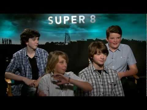 Joel Courtney, Riley Griffiths, Ryan Lee, Gabriel Basso & Zach Mills Talk 'Super 8'