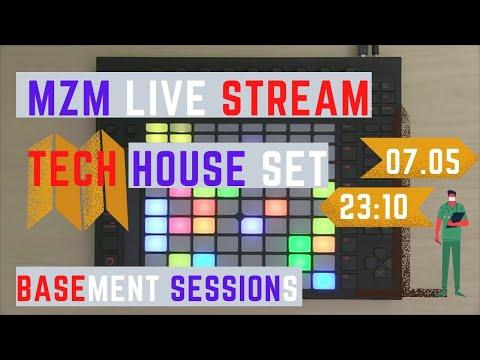 MZM Live / Tech house set / LIVE STREAM2