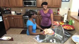 Don't Wash Your Chicken! Lemon Roasted Chicken Drama