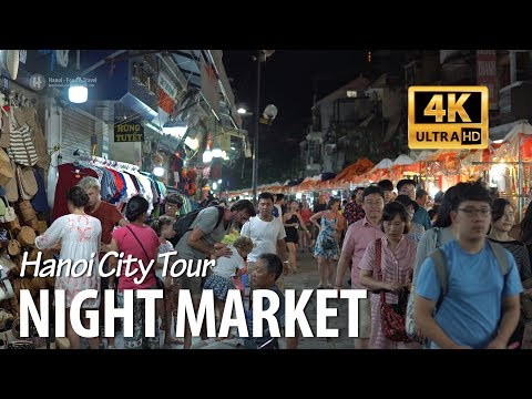 Hanoi Old Quarter Night Market - Hanoi Nightlife 2018