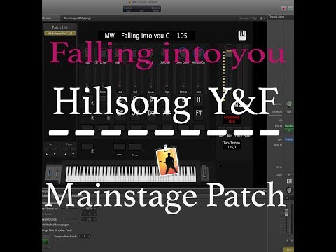 Falling into you - Y&F - Mainstage Patch - Martin Wiegel