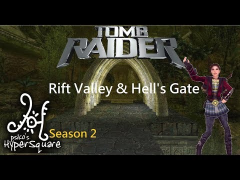 Tomb Raider HyperSquare Season 2 - Rift Valley and Hell's Gate Walkthrough