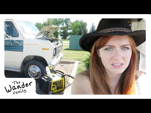 VAN LIFE: WE HAVE A PROBLEM!   Steps to Wander 📍 Medicine Hat, Canada