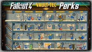 Fallout 4 - Character Leveling System, New Perk Info & More! (In-Depth Breakdown / Analysis)