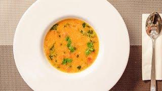 Supe me domate dhe krem pana - Tomato soup with cream