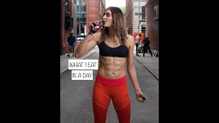 What I Eat In A Day As An Olympian/Model // Monica Aksamit