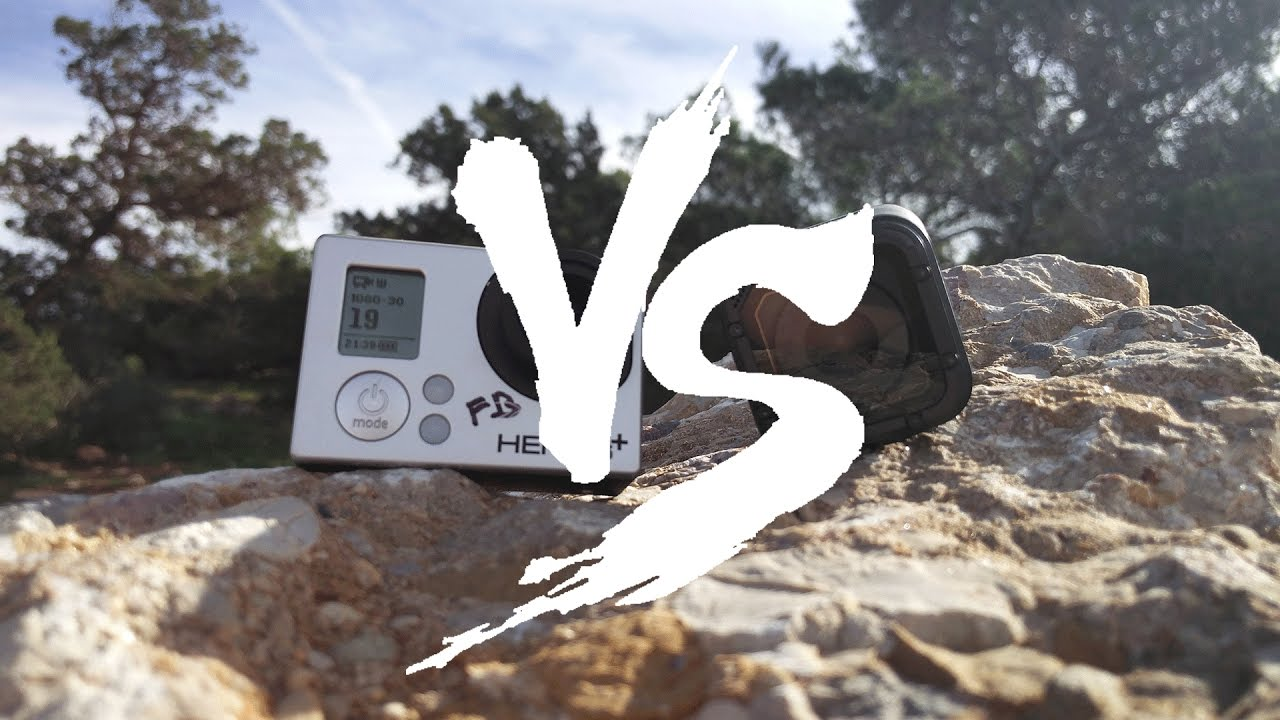 GoPro Hero3 Vs GoPro Hero5 Session