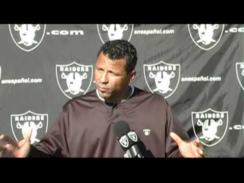 Rod Woodson Media Session - Oakland Raiders Training Camp 2011