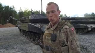 Dansk Kampvognsdeling til kampvognskonkurrence i Tyskland