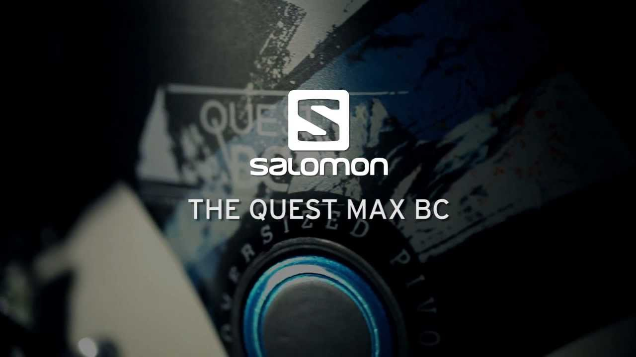 2013/2014 Salomon Quest MAX BC Boots