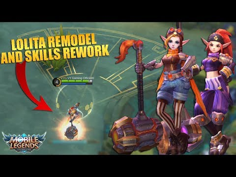 LOLITA Remodel and Skills Rework Review and Gameplay - Mobile Legends Patch 2.24