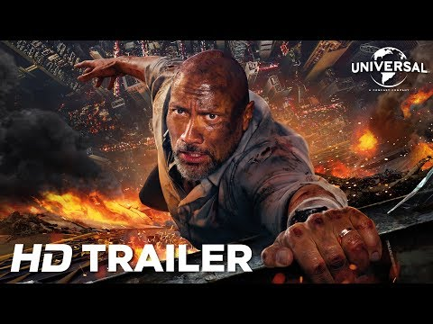 Arranha-Céu: Coragem Sem Limite - Trailer 2 (Universal Pictures) HD