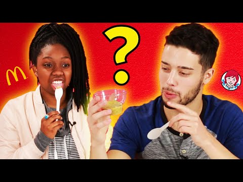 Fast Food Dipping Sauce Challenge