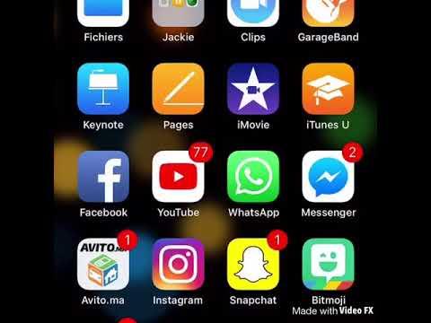 Application musique sur iPhone
