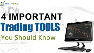4 Important Forex Trading Tools