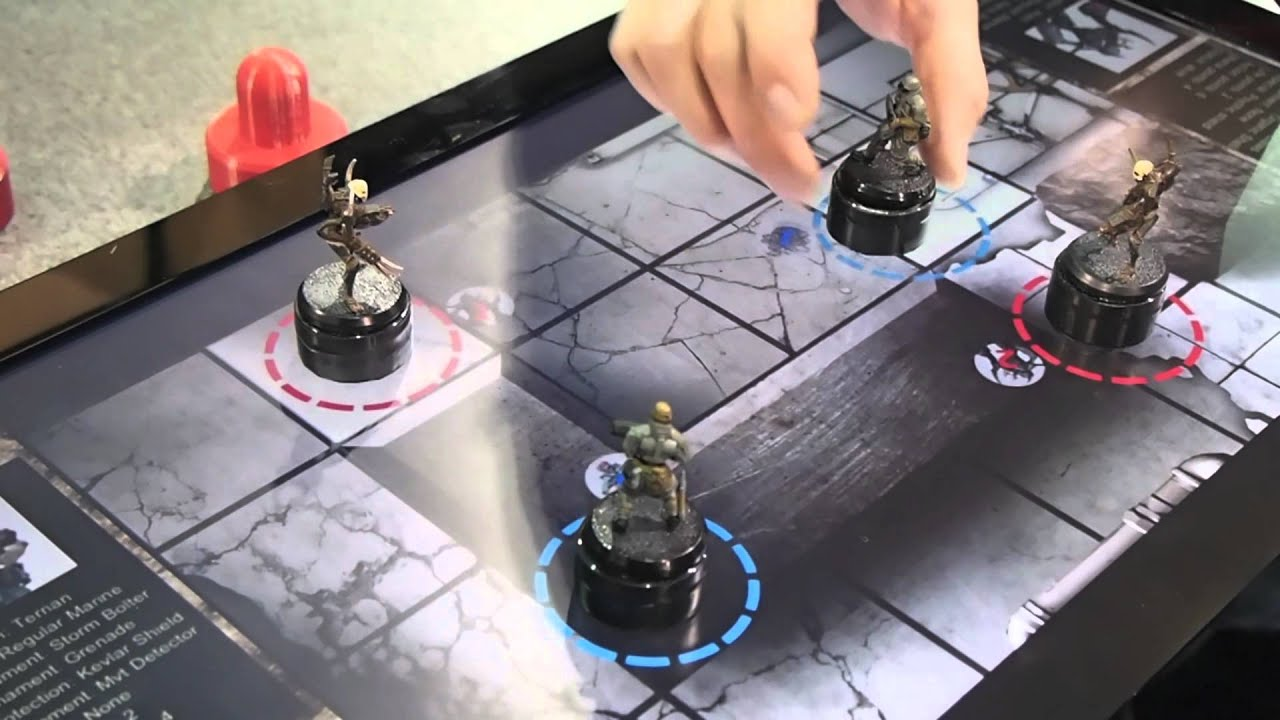 CES 2012   ePawn Arena   Digital board game tabletop   YouTube