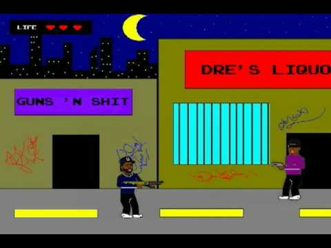 Boyz 'N The Hood Nintendo Game - YouTube