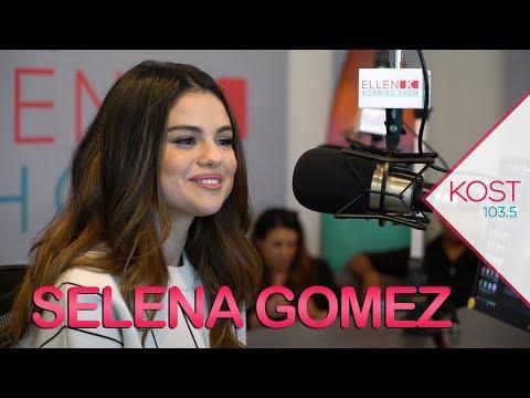 Ellen K Weekend Show - Selena Gomez Tells Ellen K How She Escapes From Fame
