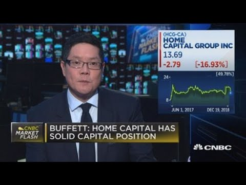 Buffett sells most of stake in Toronto mortgage firm Home Capital