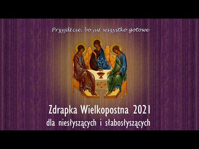 Zdrapka Wielkopostna 2021 - zaproszenie