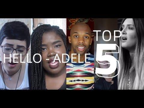 TOP 5 COVERS of HELLO - ADELE